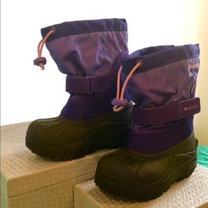 Columbia: Little Girl Snow Boots